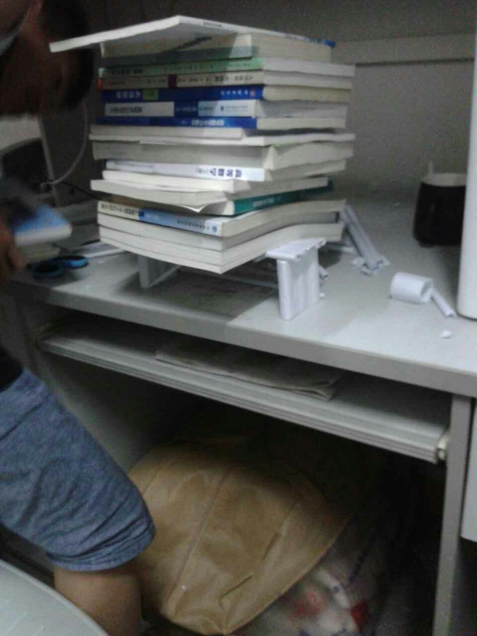 纸桥称重比赛——纸桥制作的过程(下)