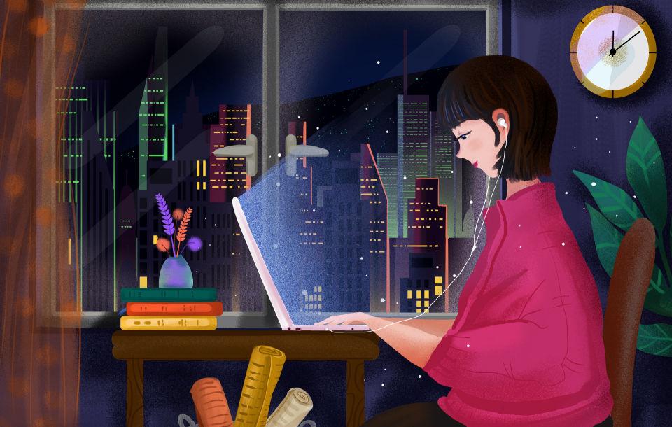 摄图网_401719693_banner_女孩在家中工作到深夜(非企业商用).jpg